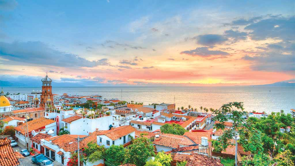 Puerto Vallarta, uno de los lugares en México para escaparse del frío