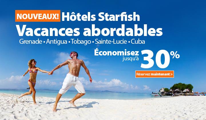 Conomisez Jusqu 30 Sur Les Htels Starfish