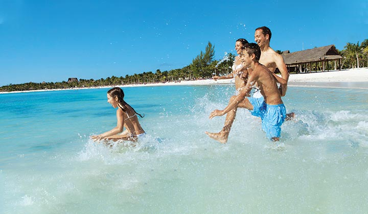 Swinging in the caribbean at the desire pearl riviera maya