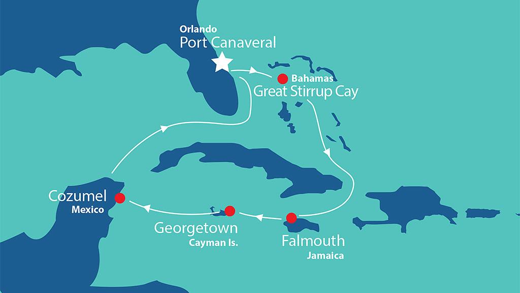 Itinerary - Western Caribbean 2