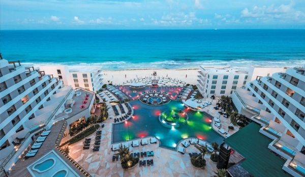 Aerial view of Melody Maker Cancun