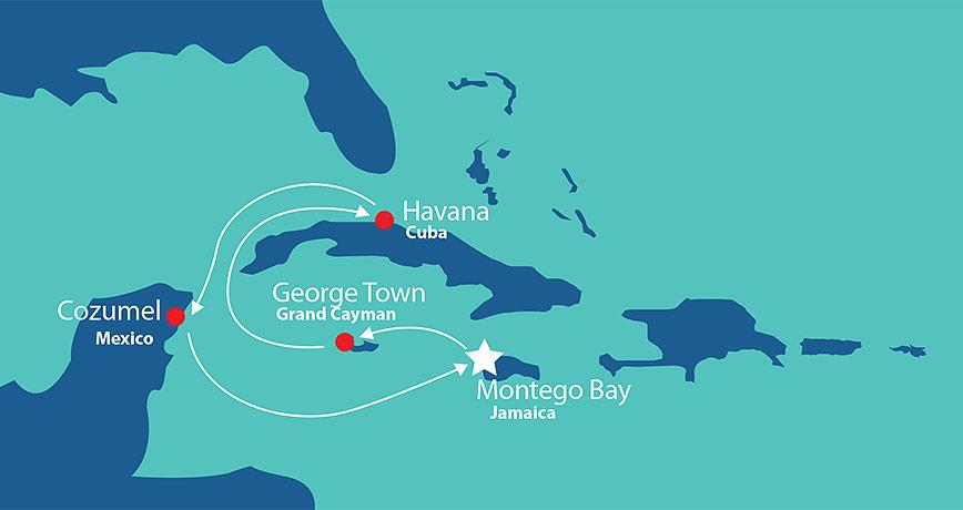 Itinerary - Cuban Fusion 1
