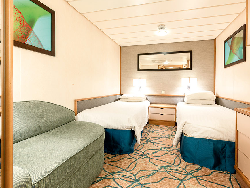 TUI Discovery 2 inside stateroom