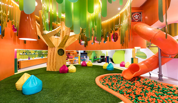 Villa Ananas inspirée de Bob l'Éponge