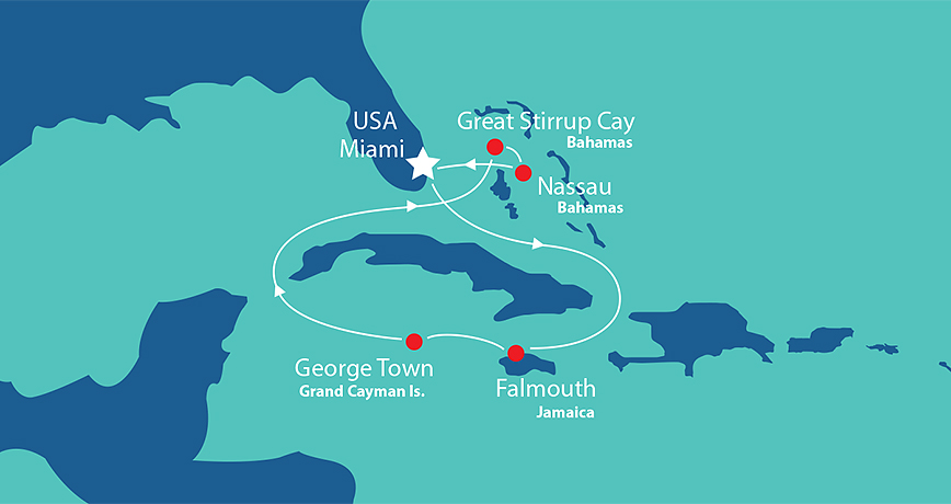Itinerary - Western Caribbean 3