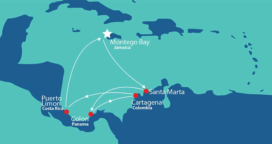 Itinerary - Pride of Panama 2