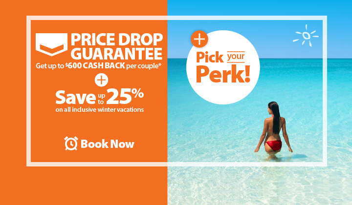 All inclusive vacation packages december