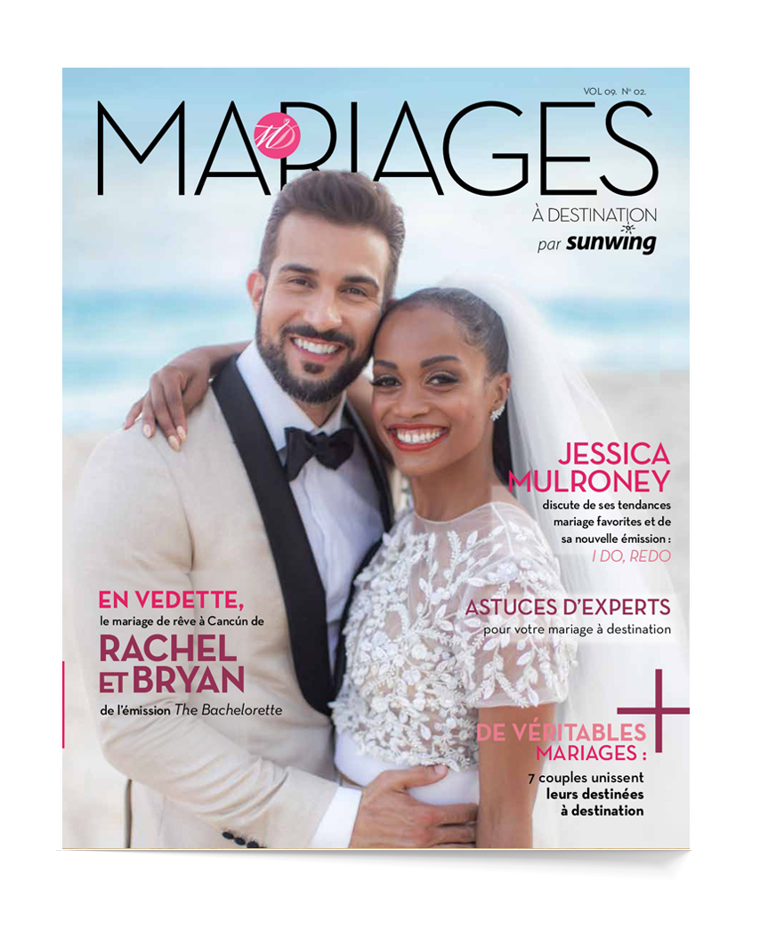 Brochure MARIAGES Sunwing 2020