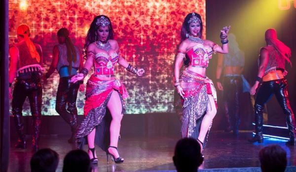 Dancers performing at Bravissimo Fiesta