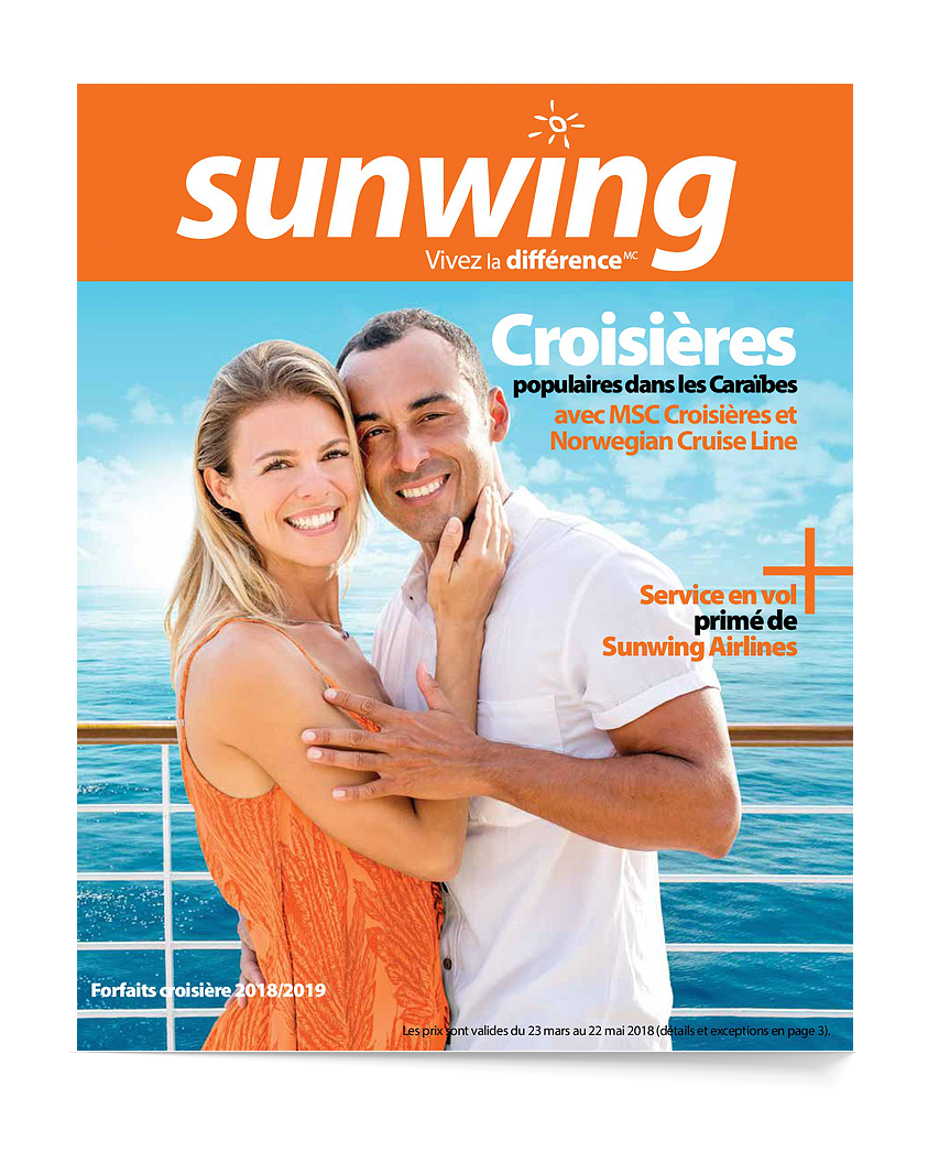 Sunwing Cruise brochure 2018