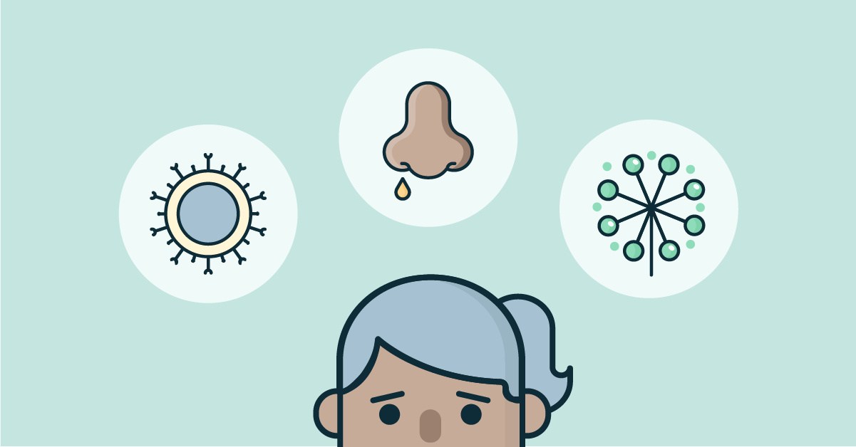allergi eller förkylning