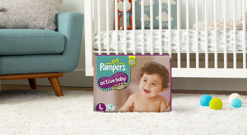 Pampers® Premium Care Active Baby™