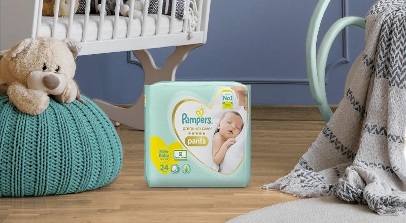 Pampers® Premium Care Diaper Pants For Newborn™