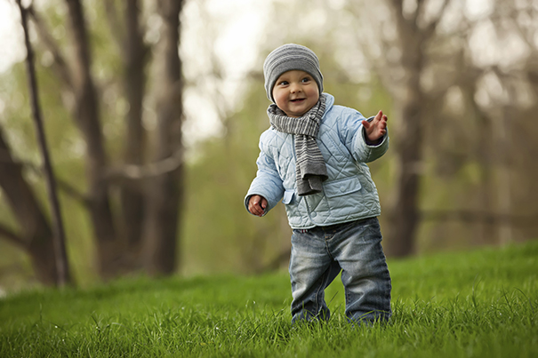 Baby walking