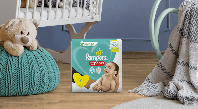 Pampers® Baby-Dry™ Diaper Pants