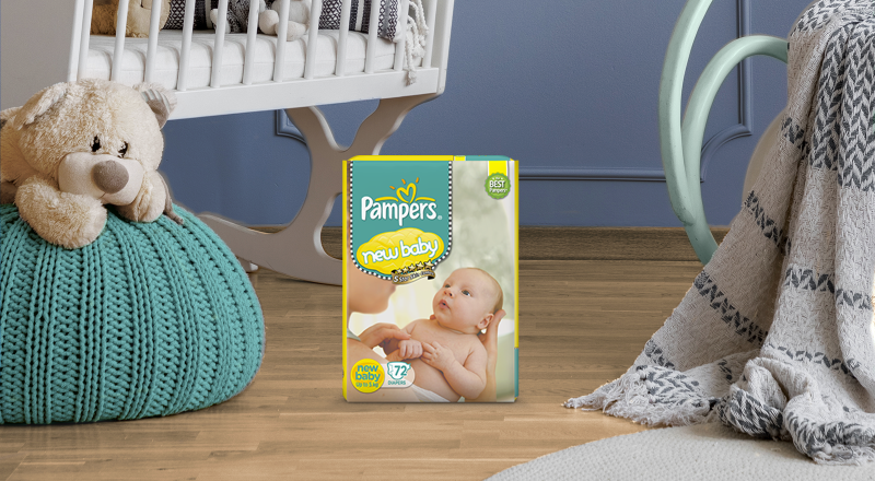Pampers® Diapers For Newborn