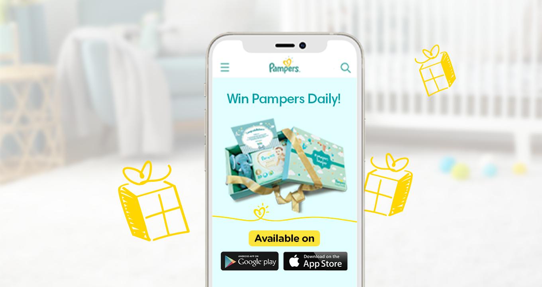 Pampers App - Hero Banner
