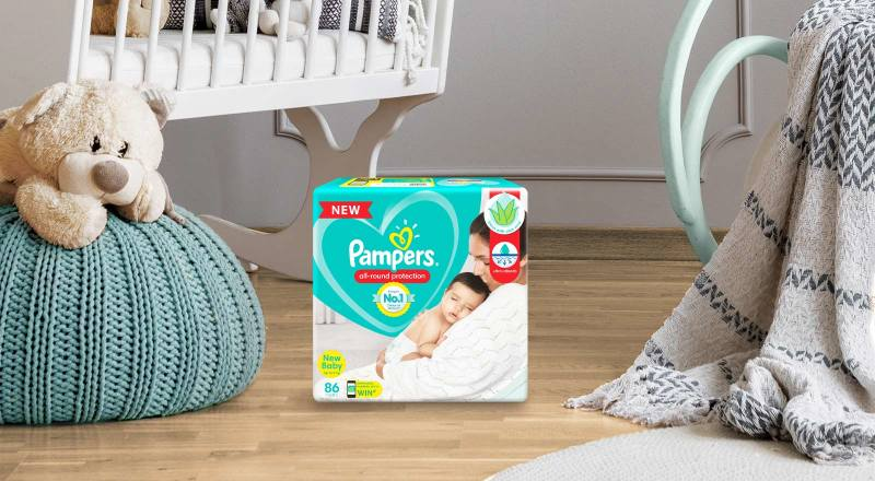 Pampers® Baby-Dry™ Diaper Pants For Newborns