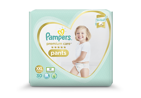 Pampers Extra Soft Baby Diapers & Pants