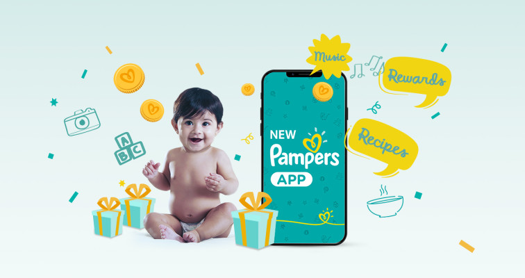 Pampers Baby World App - Rewards