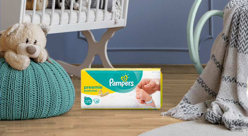 Pampers® Preemie Protection