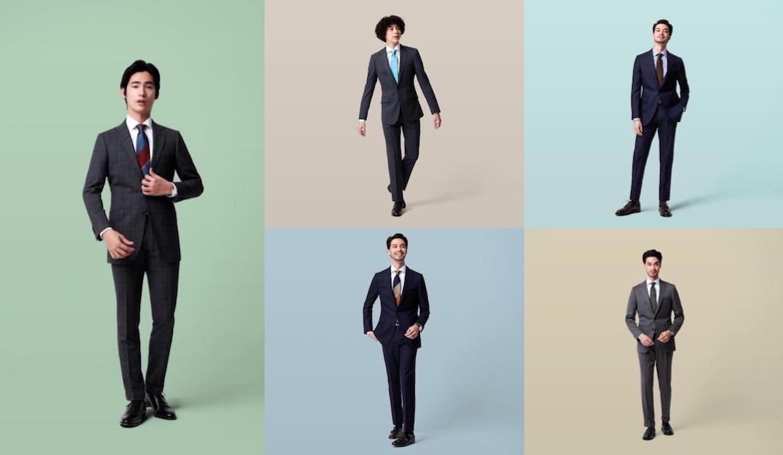 ビジネススーツのコーディネートのイメージ