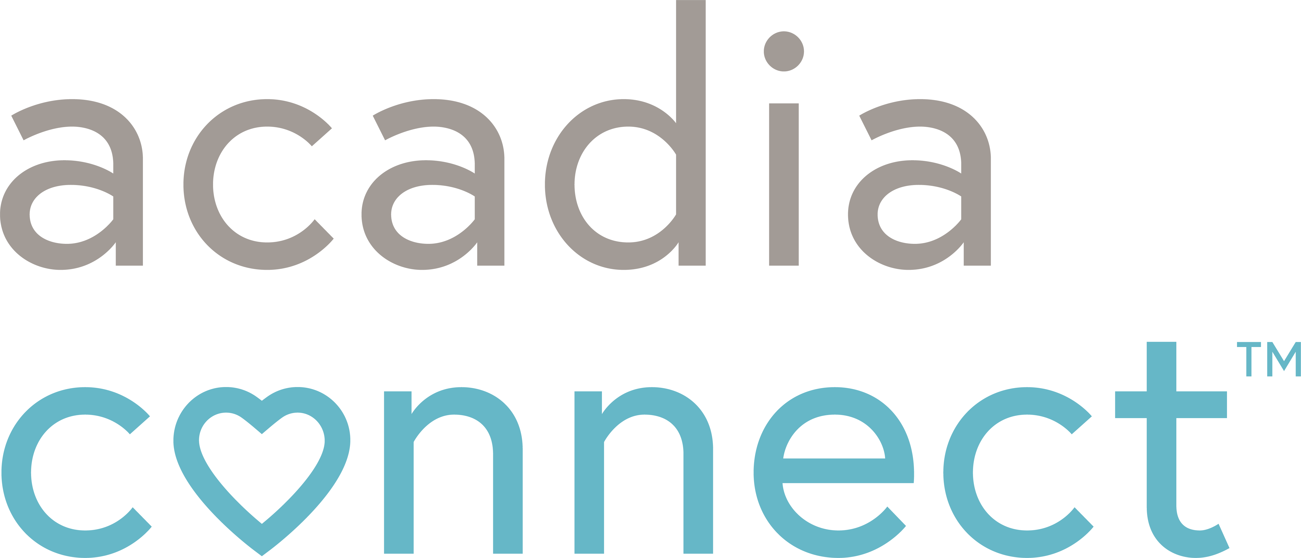 Acadia Connect logo for patient, caregiver and healthcare professional support website