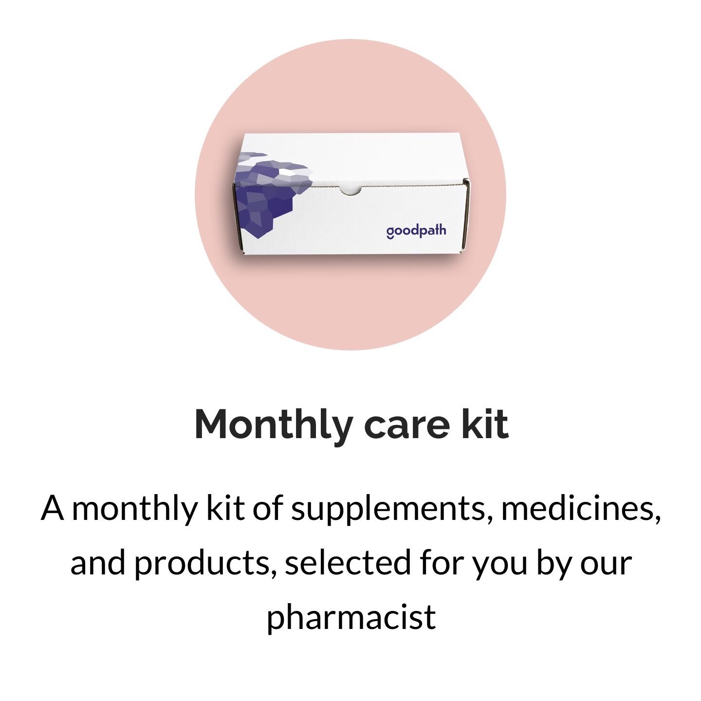 Monthly care kit D