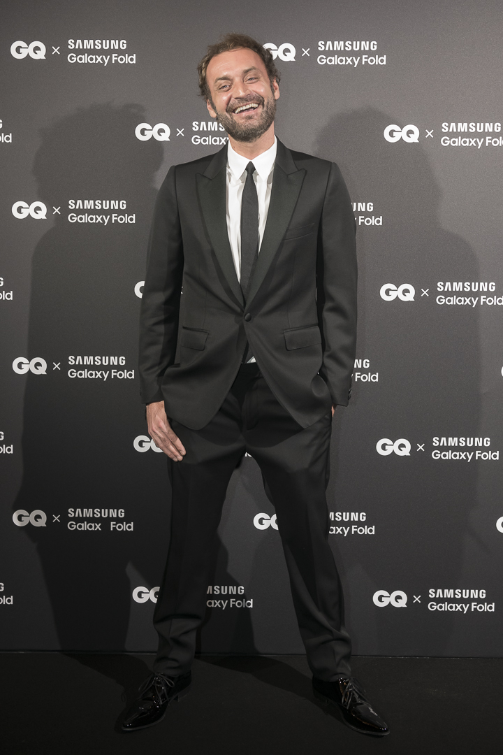 Augustin Trapenard was presented the HeForShe accolade at the tenth edition of the French GQ Men of the Year awards