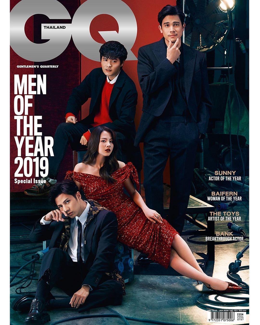 GQ Thailand January 2020, Sunny Suwanmethanon, Pimchanok Luevisadpaibul, The Toys