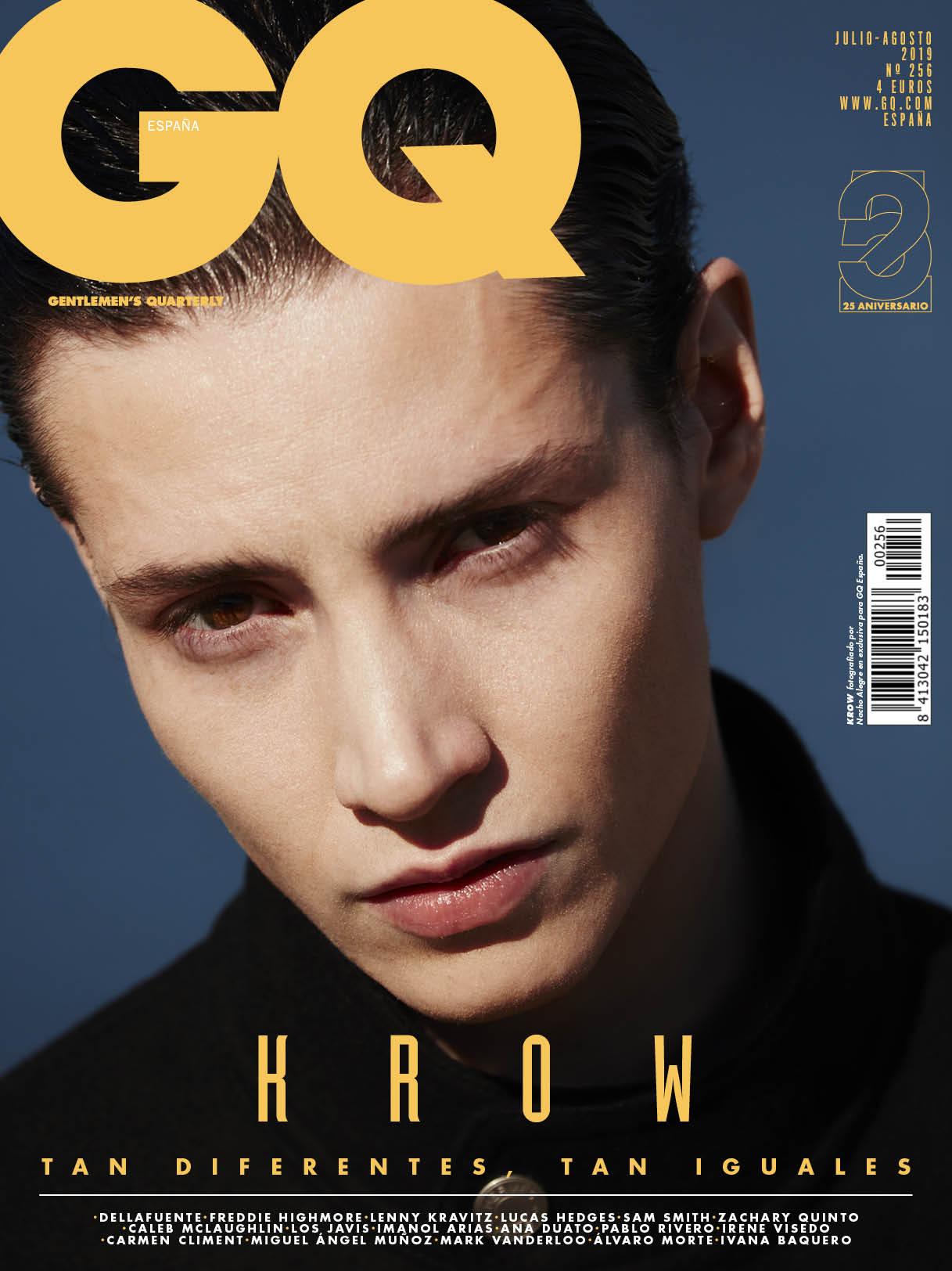 GQ Spain Krow model