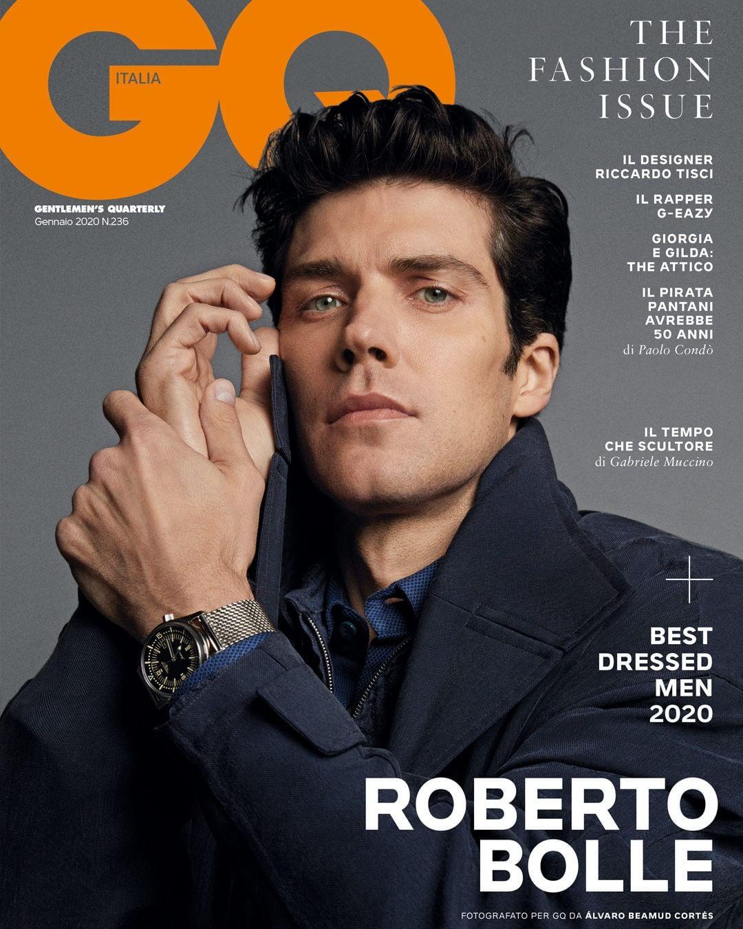 GQ Italy January 2020, Roberto Bolle