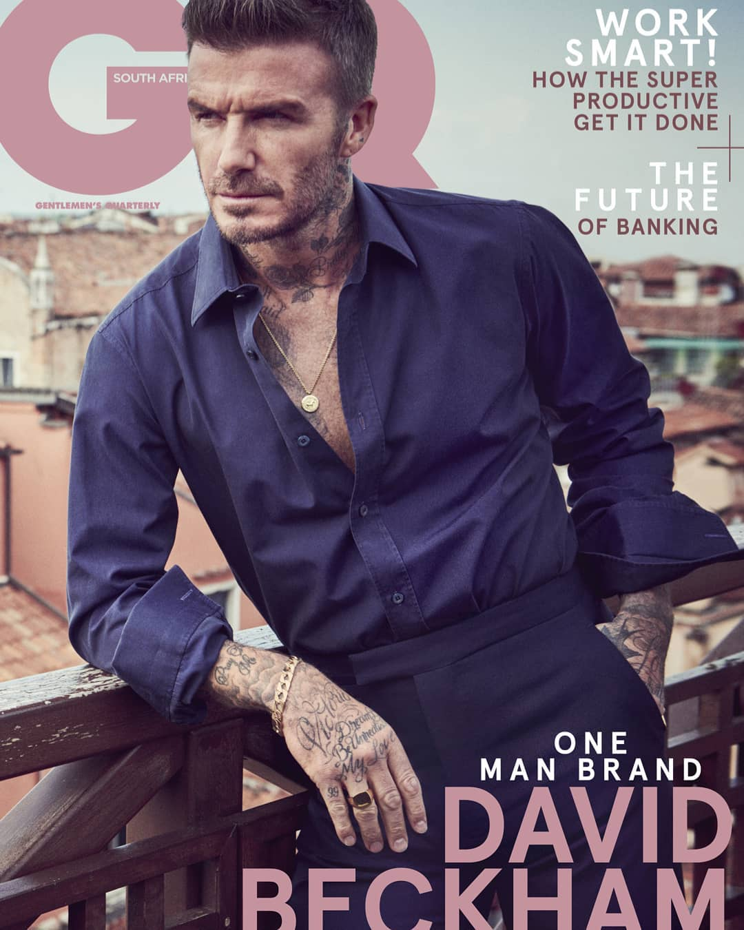 GQ South Africa January 2020, David Beckham