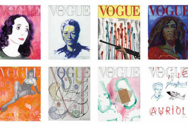 Vogue Paris art covers