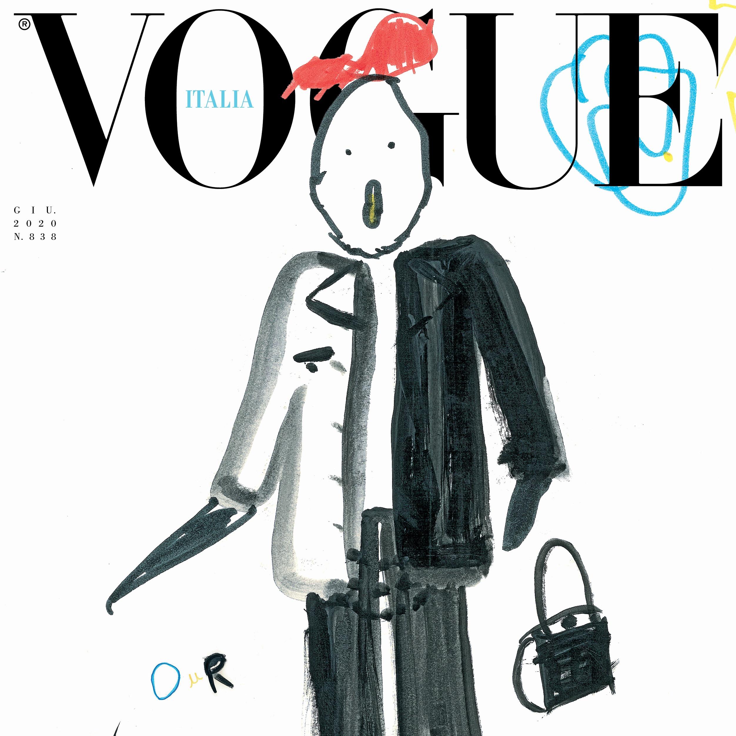 Condé Nast - Children take over Vogue Italia's June issue