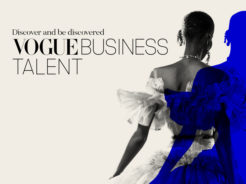 Vogue Business Talent launch for fashion industry professionals