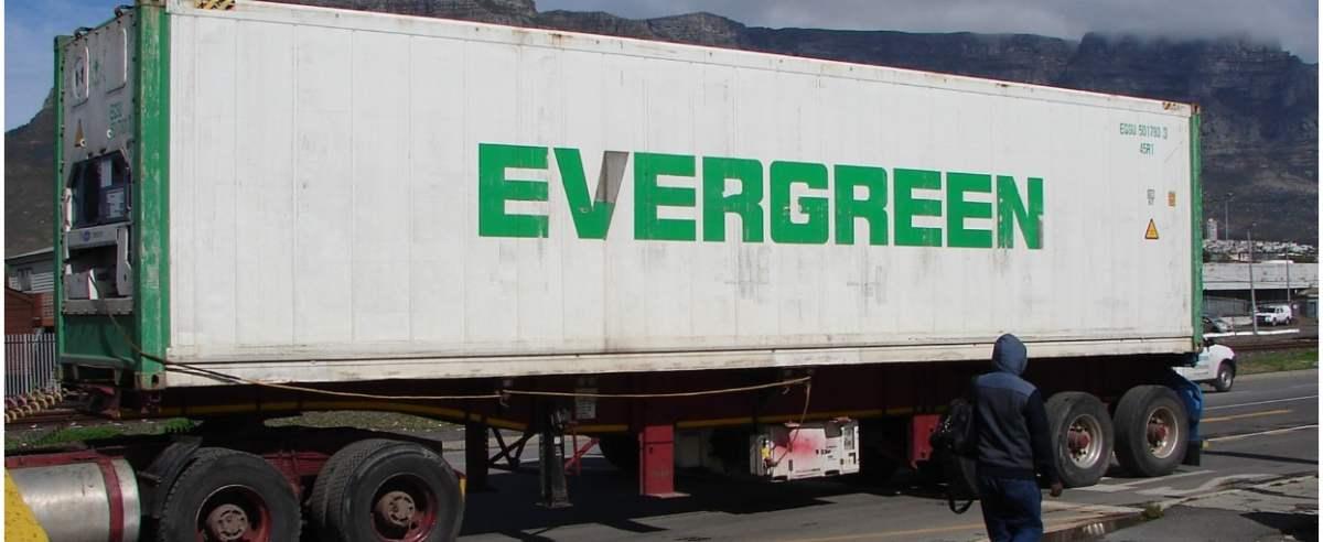 Evergreen zablokował autostradę