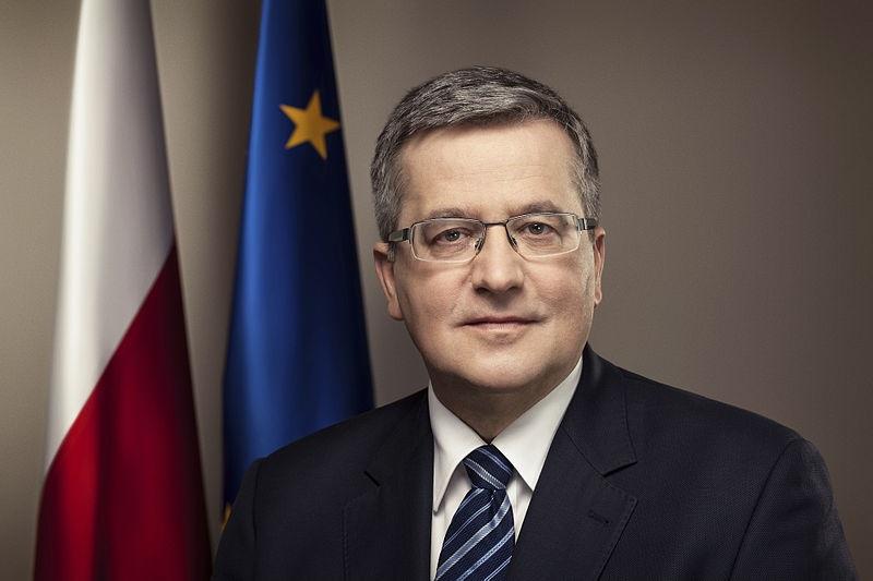 Bronisław Komorowski wraca do polityki