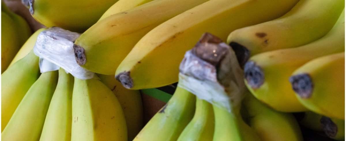 Banany z kokainą w Biedronce