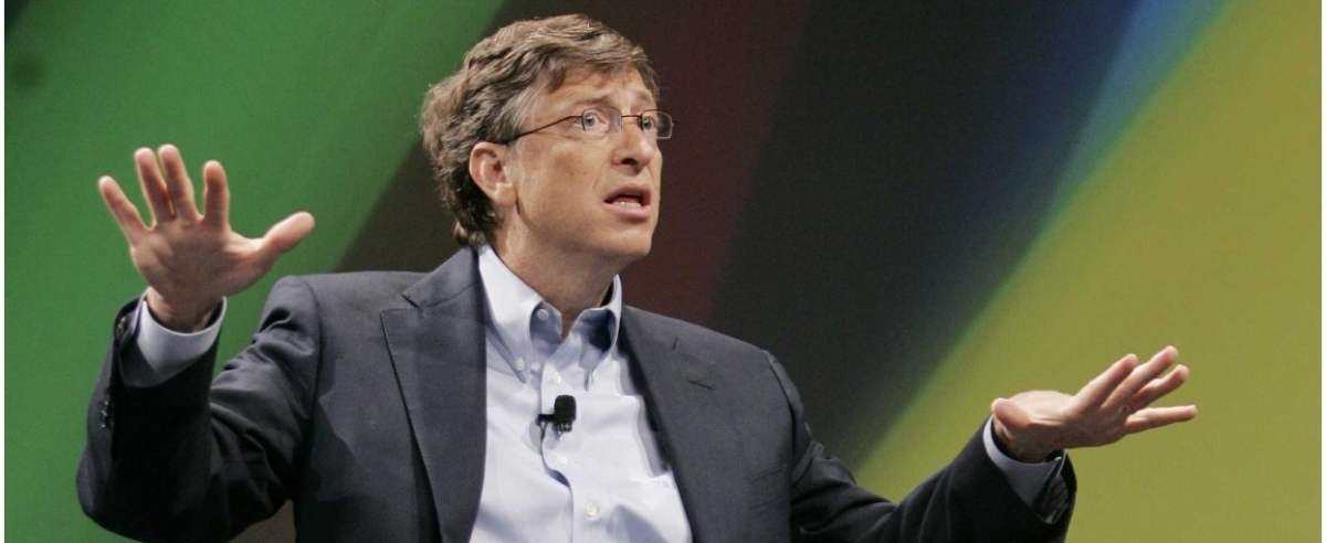 Bill Gates o Bitcoinie