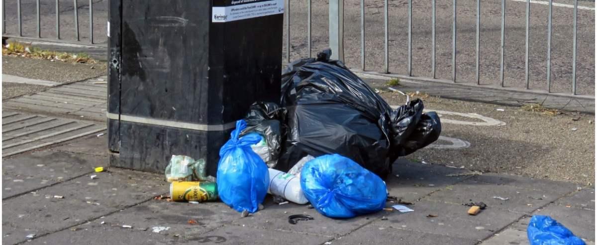 Legnica w śmieciach