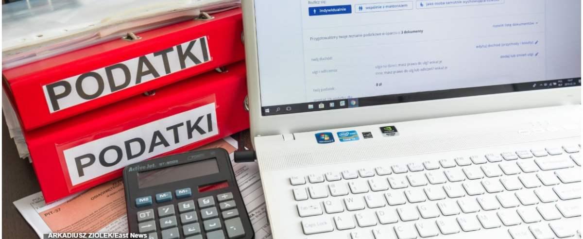 fot: Arkadiusz Ziolek/ East News. 24.02.2019. n/z Rozliczenie podatku E-PIT.