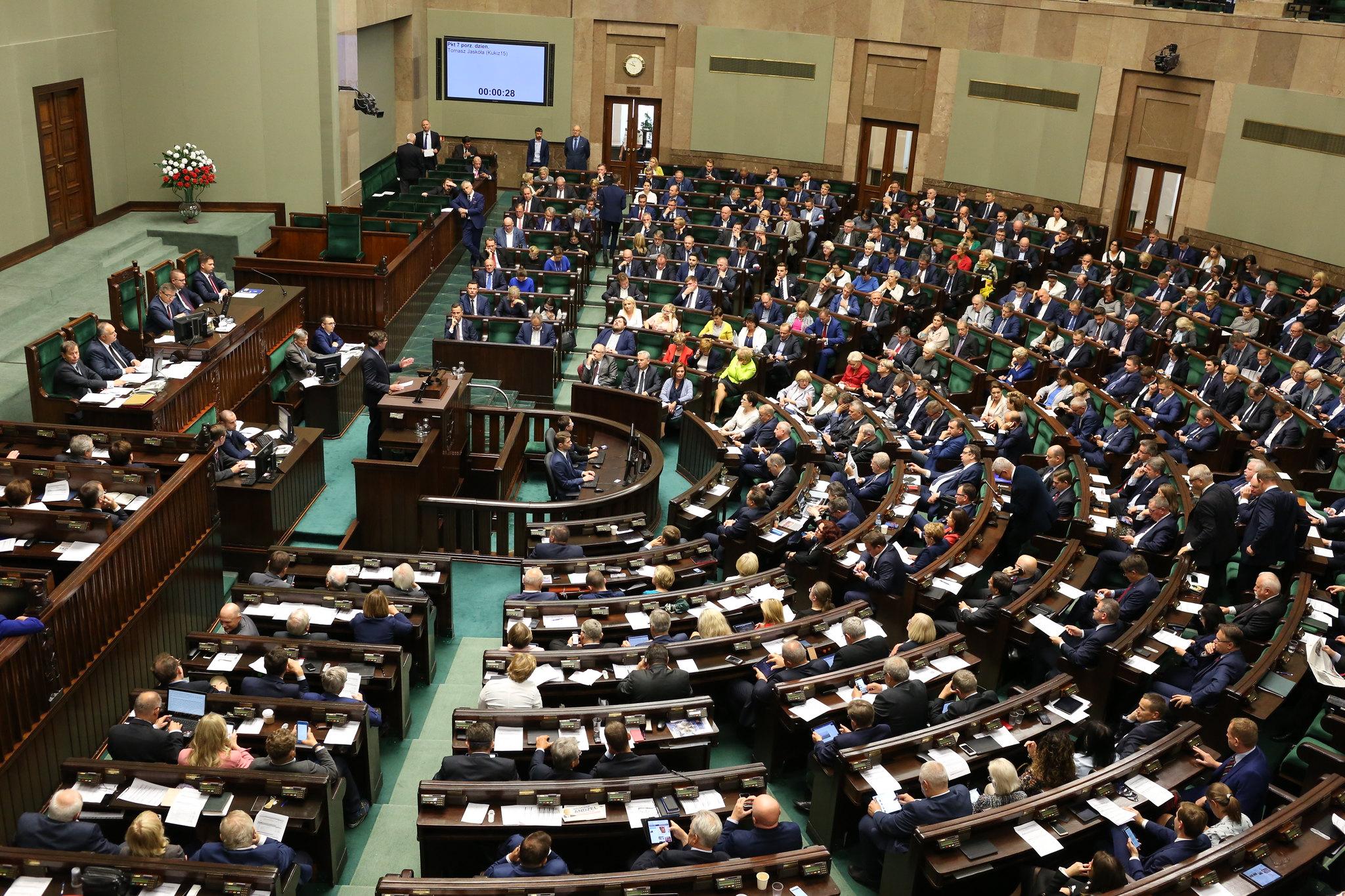 Fot. Kancelaria Sejmu/Krzysztof Białoskórski, CC BY 2.0