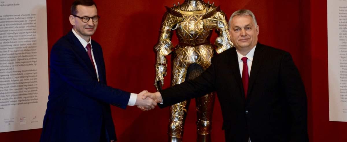 Premier Mateusz Morawiecki na Węgrzech