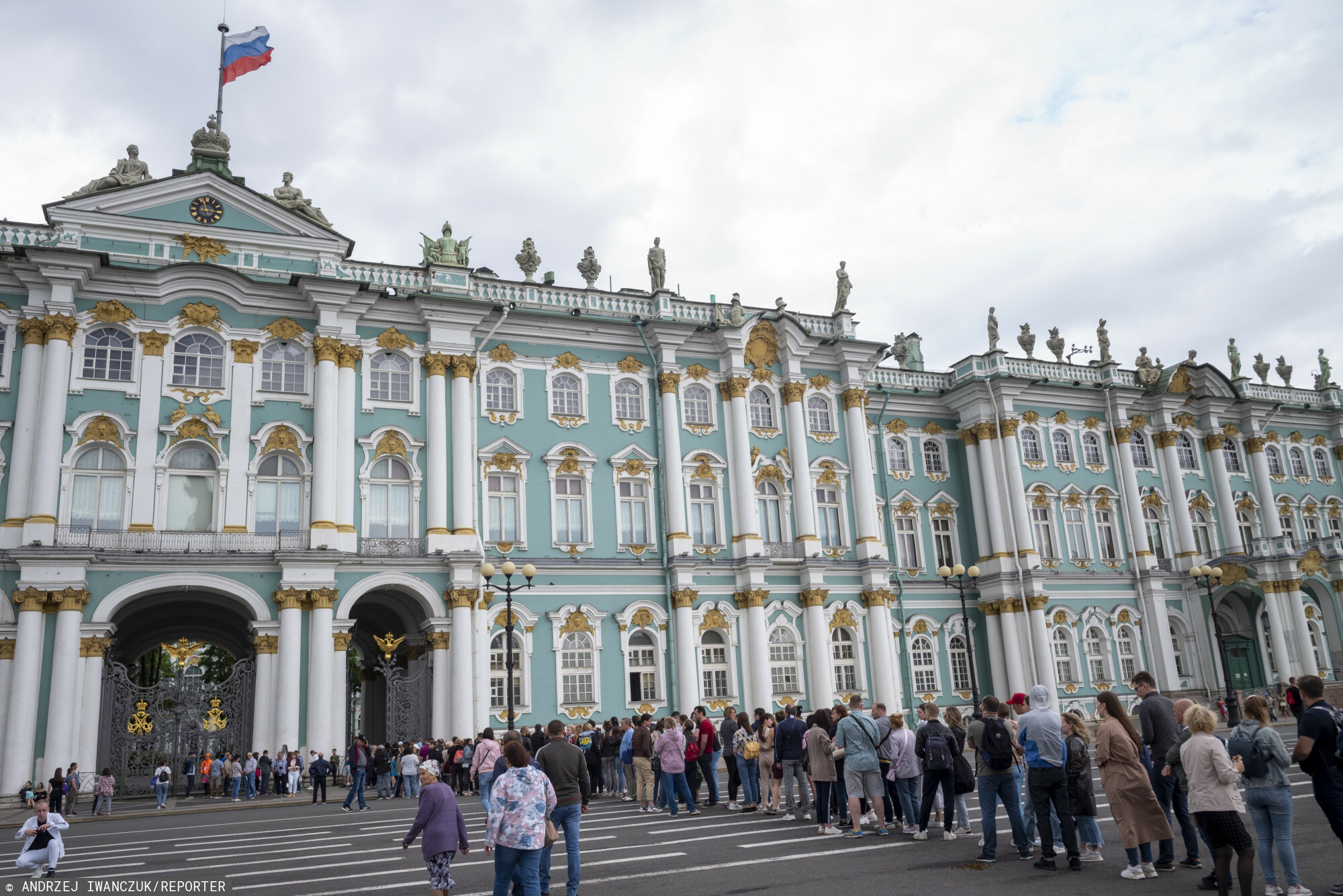 15.06.2021 Rosja, Sankt Petersburg , Ermitaz fot. Andrzej Iwanczuk/REPORTER