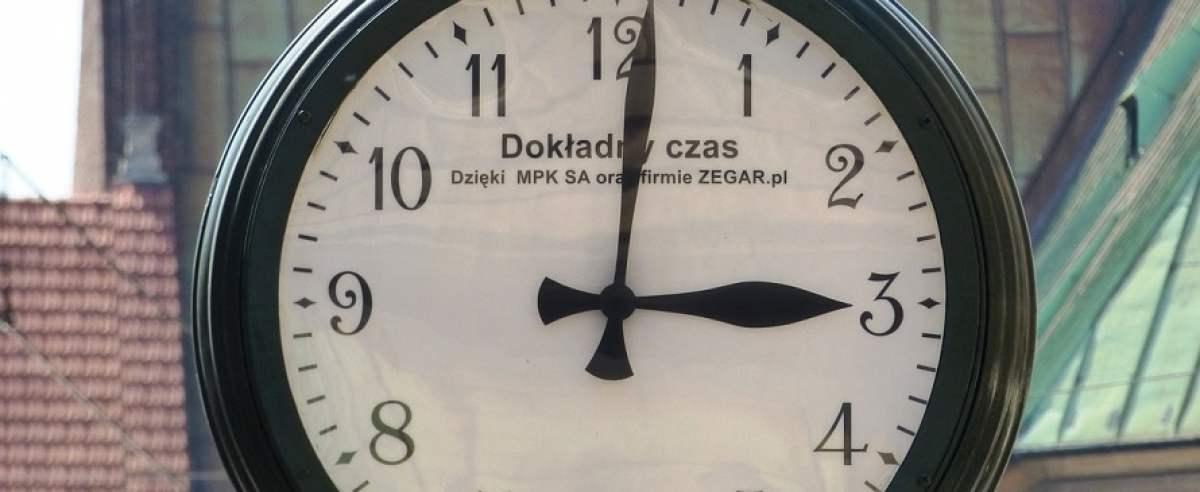 Dlaczego dzisiejsza zmiana czasu nie nastąpi po raz ostatni?