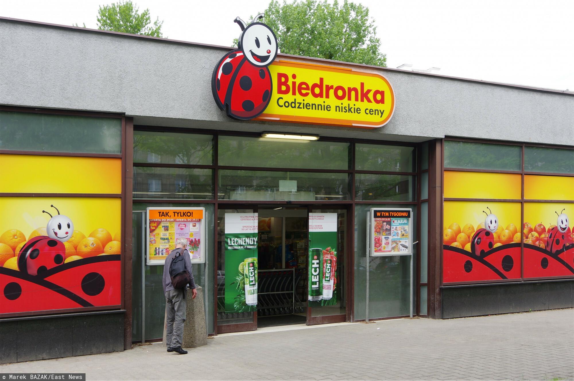 PHOTO: ZOFIA I MAREK BAZAK / EAST NEWS Warszawa N/z sklep Biedronka, siec handlowa, wlasciciel Jeronimo Martins Polska