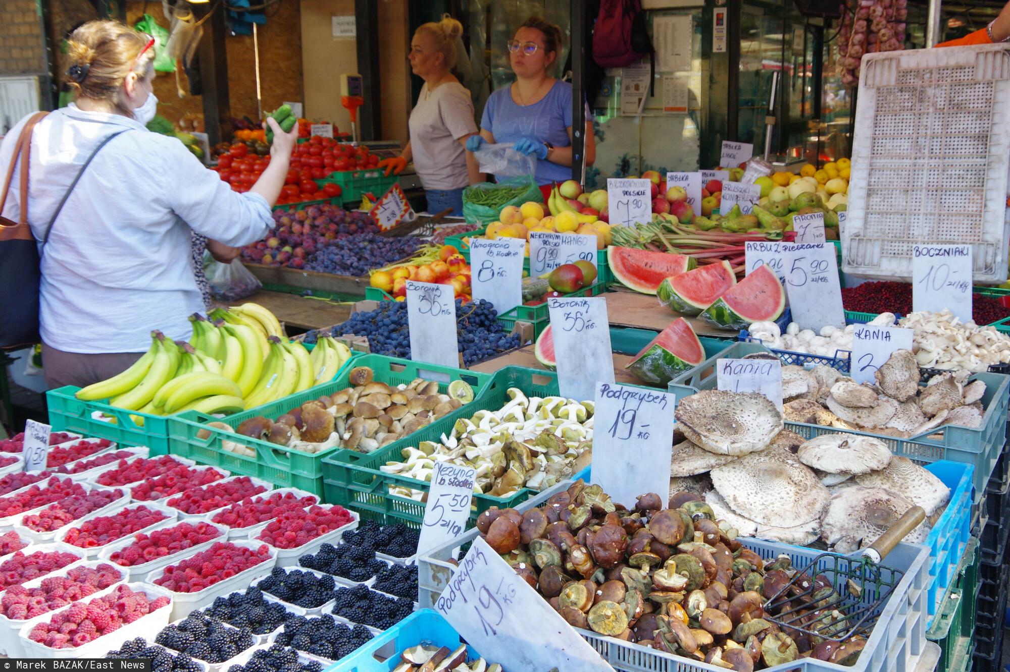 Ceny w warzywniakach coraz wyższe