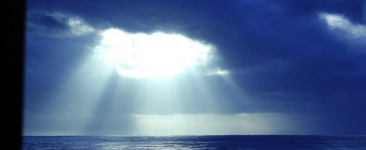 Niebo światłem zanieczyszczone