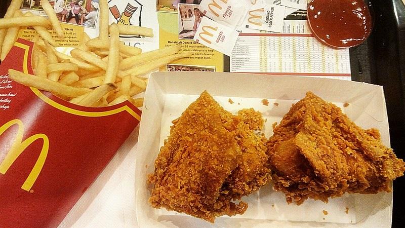 Kurczak w McDonald's sprzedany za kosmiczną cenę